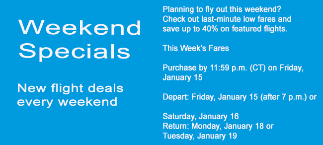 New Flight deals at H&S Travels