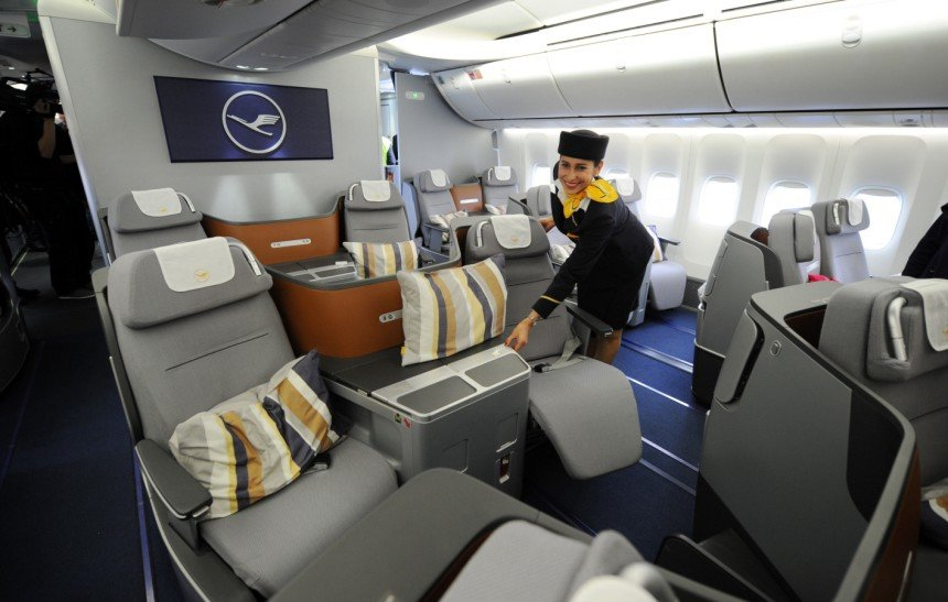 Flights to Europe in Premium Economy